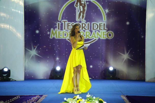 Veronica Maya ai Tesori del Mediterraneo